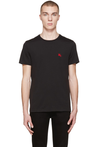 Burberry - Black Tunworth T-Shirt