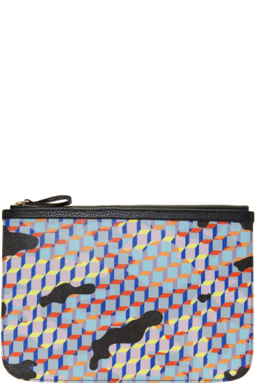 Pierre Hardy - Multicolor Large Camocube Pouch