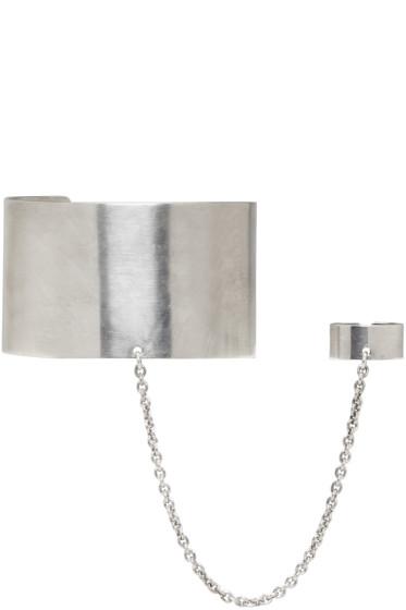 Ann Demeulemeester - Silver Ring Cuff