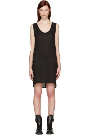 Ann Demeulemeester - Black Short Thelma Tank Dress
