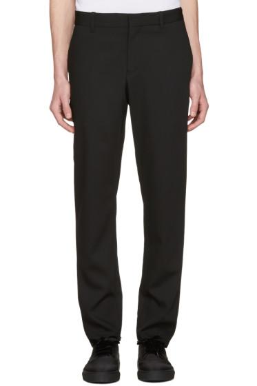 Ann Demeulemeester - Black Slim Trousers
