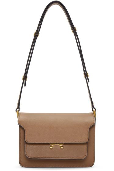 Marni - Brown Small Trunk Bag