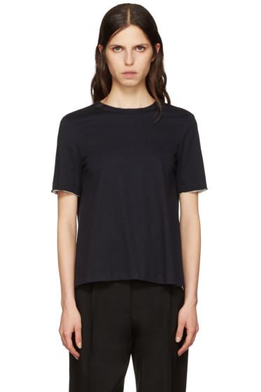 Marni - Navy Tie Back T-Shirt