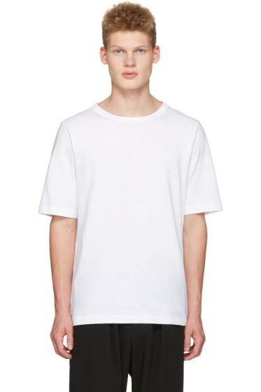 Marni - White Lacing T-Shirt