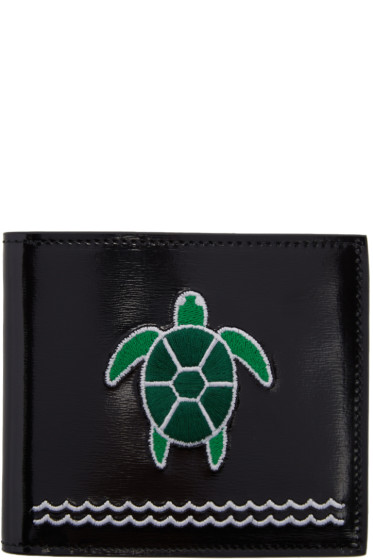 Thom Browne - Black Turtle Wallet