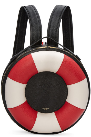 Thom Browne - Black Life Preserver Backpack