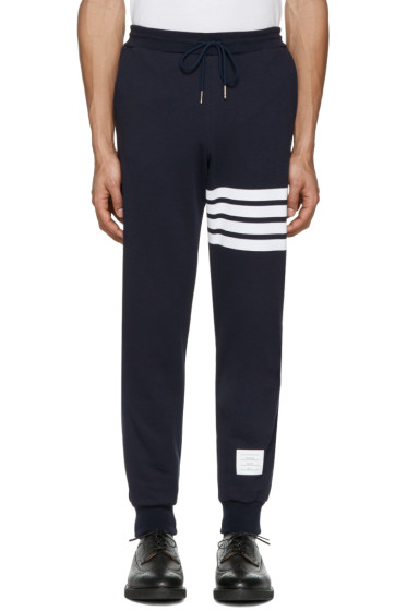 Thom Browne - Navy Classic Lounge Pants