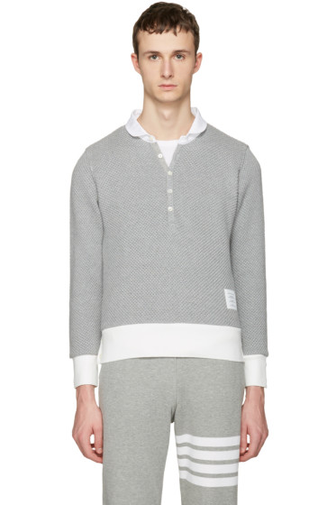 Thom Browne - Grey Collection Polo