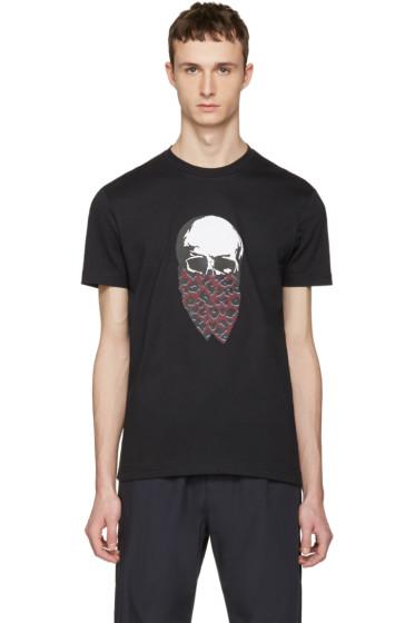 Markus Lupfer - Black Skull Bandana T-Shirt
