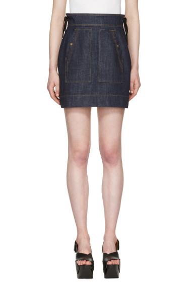 Kenzo - Blue Denim Miniskirt