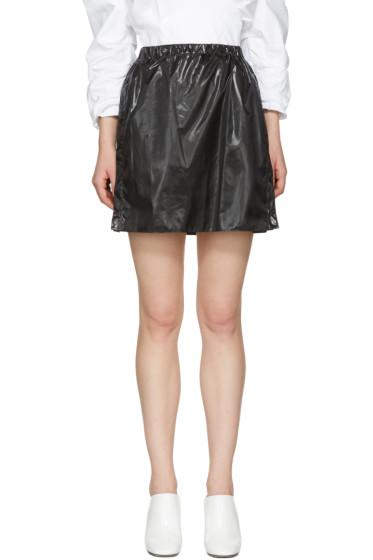 Kenzo - Black Parachute Miniskirt