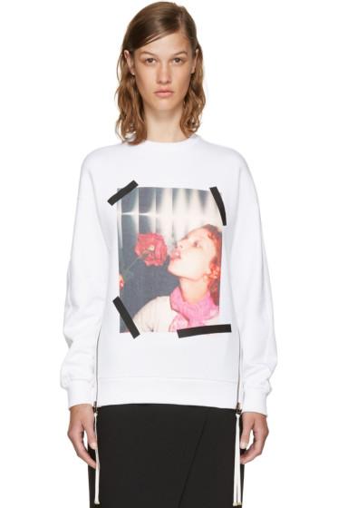 Kenzo - White Donna Jordan Zipped Sweatshirt