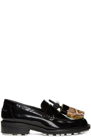 Kenzo - Black Tassel Loafers