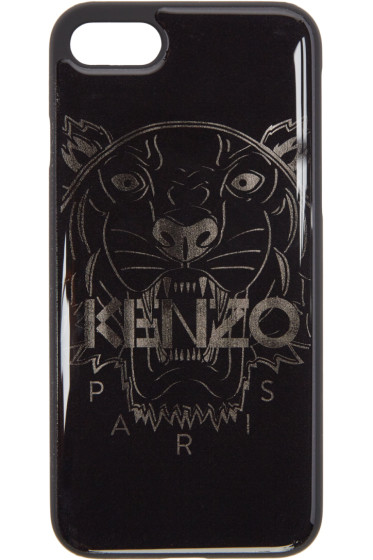 Kenzo - Black Tiger iPhone 7 Case