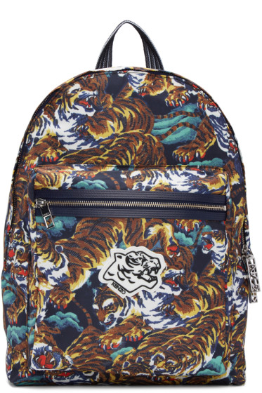 Kenzo - Multicolor Flying Tigers Backpack