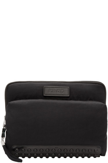 Kenzo - Black Studded Pouch