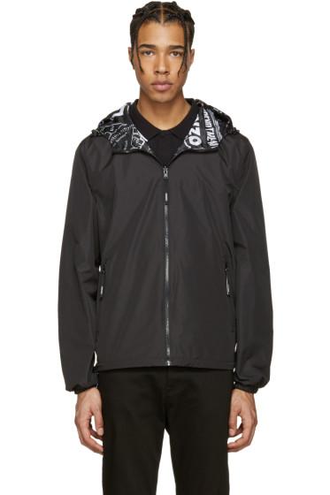 Kenzo - Reversible Black Hooded Jacket