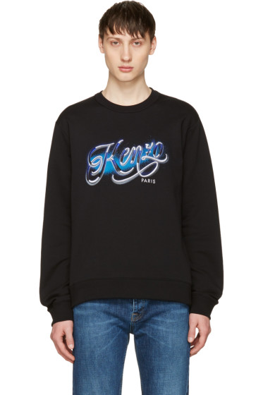 Kenzo - Black Lyrics Sweatshirt