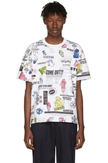 Kenzo - White Flyers T-Shirt