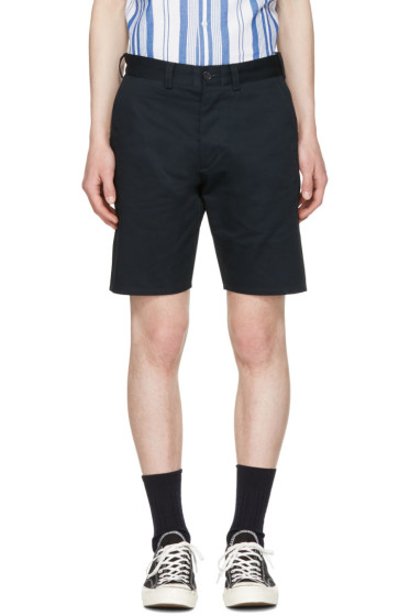 Maison Kitsuné - Navy Jay Chino Shorts