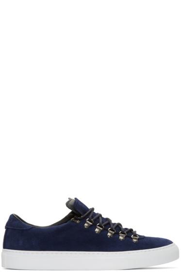 Diemme - Navy Suede Marostica Low Sneakers