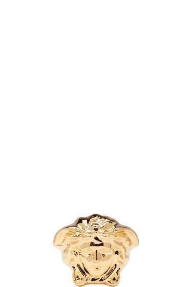 Versace - Gold Large Medusa Ring