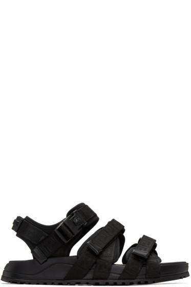 Versace - Black Hiking Sandals