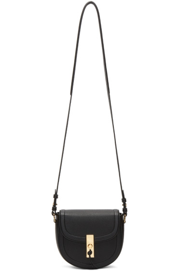 Altuzarra - Black Mini Ghianda Saddle Bag