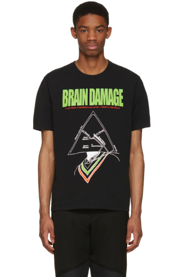 Undercover - Black 'Brain Damage' T-Shirt