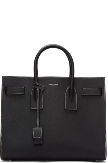 Saint Laurent - Black Small Sac De Jour Bag