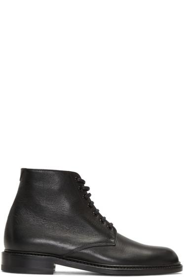 Saint Laurent - Black Lolita Boots