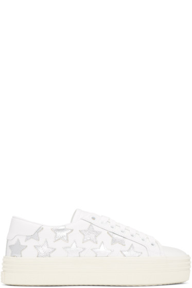 Saint Laurent - Off-White Court Classic Stars Platform Sneakers