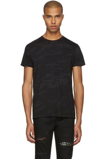 Saint Laurent - Black Camo T-Shirt