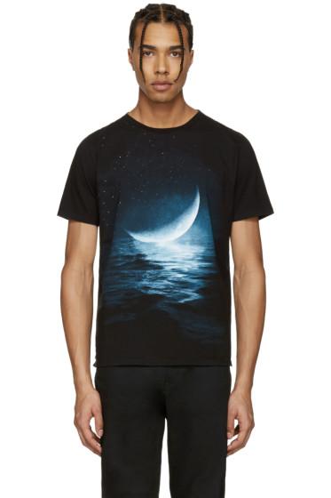 Saint Laurent - Black Moon T-Shirt