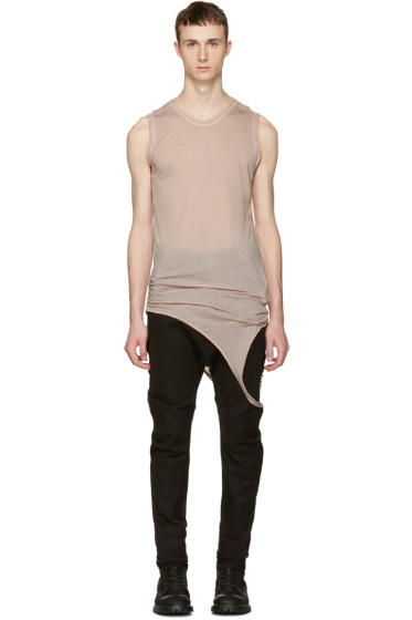 Julius - Pink Suspend Cut & Sewn Tank Top