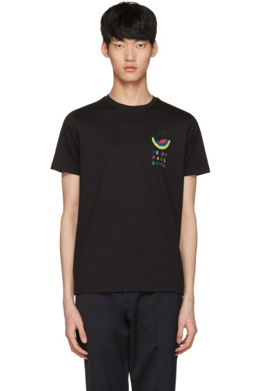 PS by Paul Smith - Black Watermelon T-Shirt