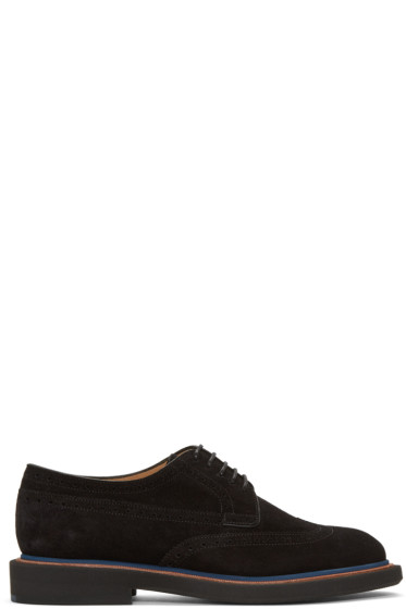 PS by Paul Smith - Black Suede Junior Brogues