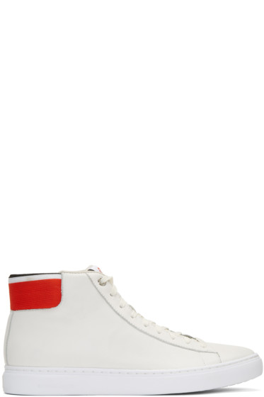 PS by Paul Smith - White Shima High-Top Sneakers