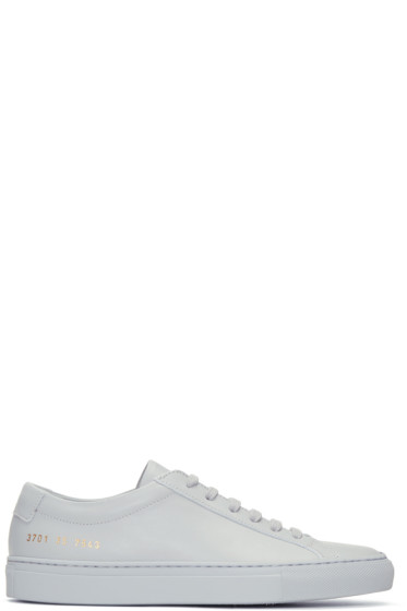 Woman by Common Projects - Grey Original Achilles Low Sneakers