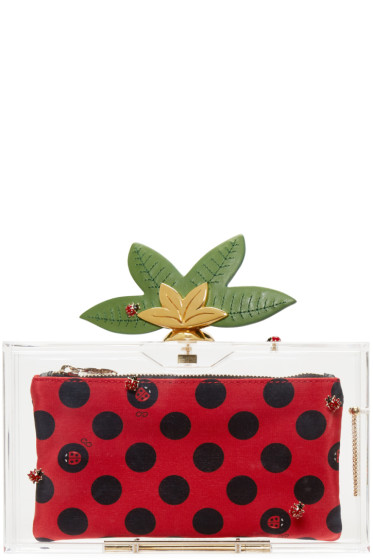 Charlotte Olympia - Transparent Lucky Pandora Clutch