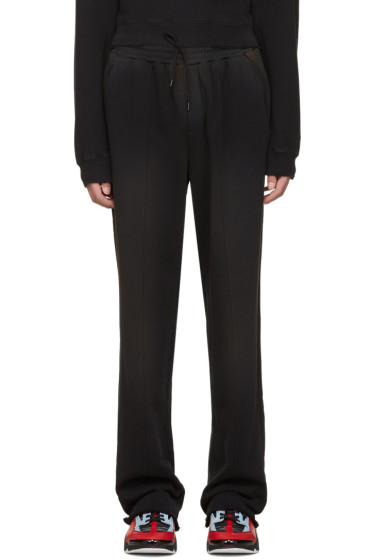 MSGM - Black Washed Out Lounge Pants
