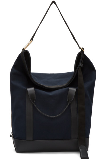 Sacai - Navy Laundry Travel Bag