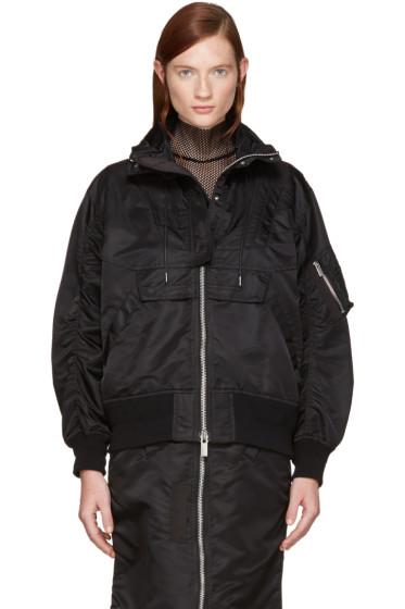 Sacai - Black MA-1 Jacket