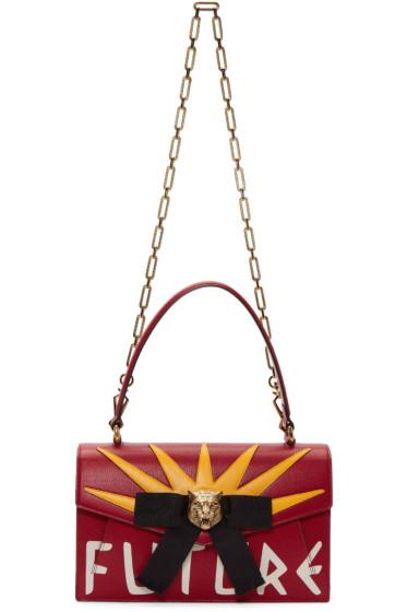 Gucci - Red 'Future' Osiride Bag
