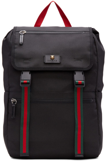 Gucci - Black Techpack Backpack