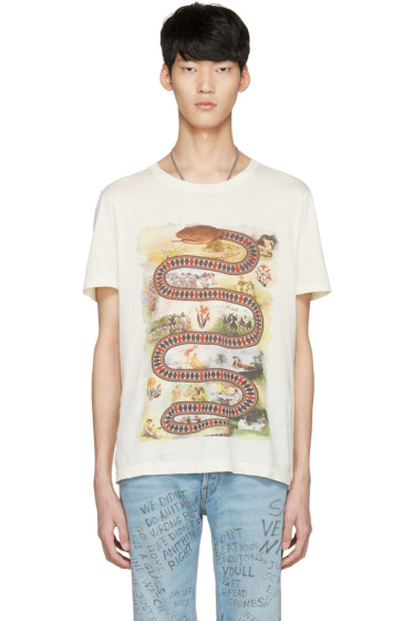 Gucci - Off-White Snake Road T-Shirt