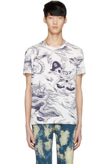 Gucci - White Sea Storm T-Shirt