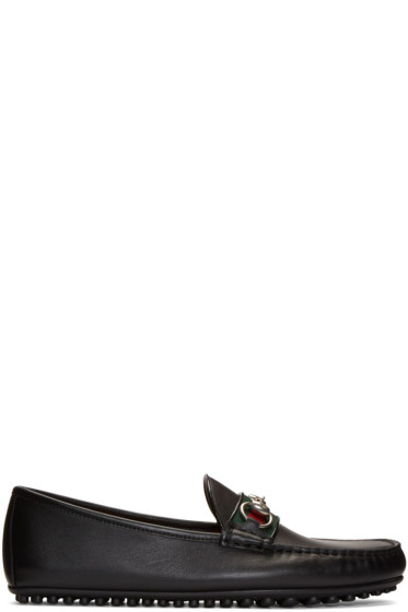 Gucci - Black 'Kanye' Driving Loafers