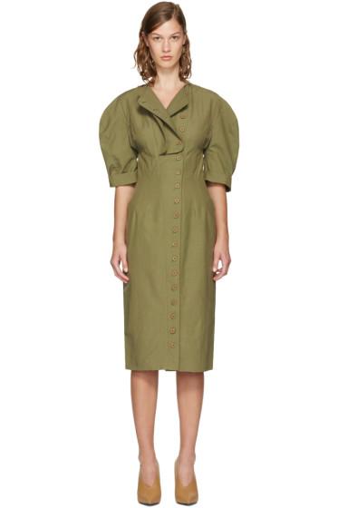 Stella McCartney - Khaki Kathey Dress