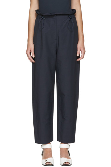 Stella McCartney - Navy Rhea Trousers